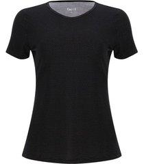 camiseta mujer print minipuntos color negro, talla l