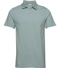 m. lycra polo t-shirt polos short-sleeved groen filippa k