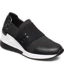 felix trainer låga sneakers svart michael kors