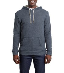 men's rails smith stripe hoodie, size small - black