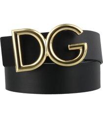 dolce & gabbana logo dg belt