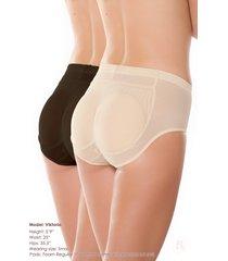 insta-booty 5-piece padded panty value set by bubbles bodywear