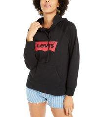 levi's women's batwing logo hoodie