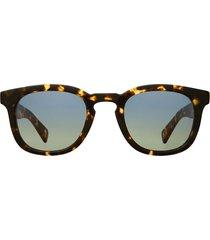 garrett leight garrett leight kinney x sun tuscan tortoise sunglasses