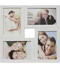 painel multifotos para 4 fotos 29,5x29,5cm branco