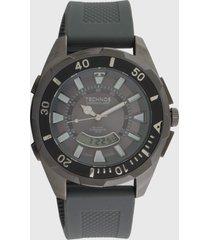 relógio technos t205jo/8c cinza