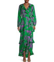 lanai ruffle maxi dress