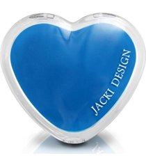 (espelho) espelho de bolsa coraã§ã£o azul - azul - feminino - dafiti