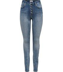 skinny jeans blush high waist knoop