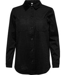 sc-leigh t-shirts & tops long-sleeved zwart soyaconcept