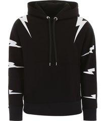 neil barrett tigerbolt hoodie