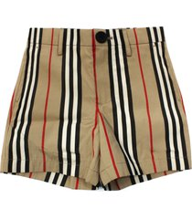burberry lightweight cotton-poplin shorts