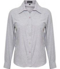 blusa uv outdoor gris claro/naranjo dama rossignol