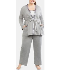 motherhood maternity plus size pajama set