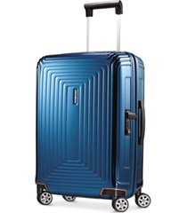 "closeout! samsonite neopulse 20"" carry on hardside spinner suitcase"