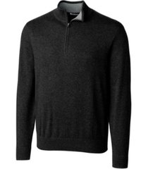 cutter and buck men's big and tall lakemont half zip sweater