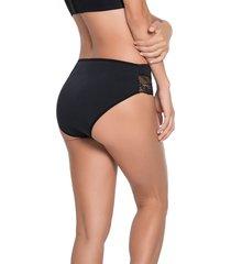 panty bikini negro leonisa 012933