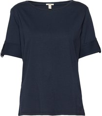 t-shirts t-shirts & tops short-sleeved blå esprit casual