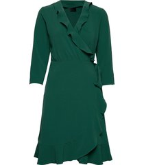 2nd elly jurk knielengte groen 2ndday