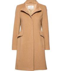 coat wool wollen jas lange jas beige gerry weber edition