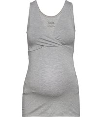 24/7 singlet t-shirts & tops sleeveless grå boob