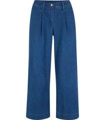 jeans cropped loose fit (blu) - bpc bonprix collection