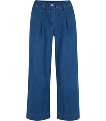 jeans cropped loose fit (blu) - bpc bonprix collection