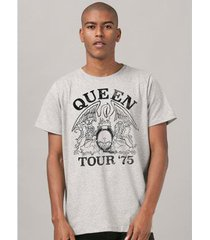 camiseta banduup! queen tour 75' masculina