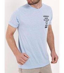 camiseta manga curta masculina - masculino