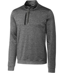 cutter & buck men's big & tall stealth half zip sweatshirt