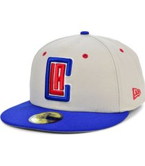 new era los angeles clippers stone 2 tone 59fifty cap