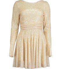 moon micro sequin dress