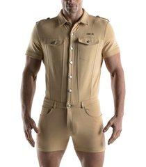 jumpsuit code 22 jumpsuit met korte mouwen code22