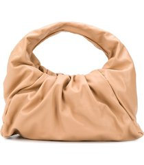 bottega veneta the shoulder pouch bag - neutrals