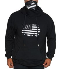 mvp collections by mo vaughn productions men's face mask pullover hoodie