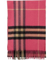 burberry the classic checked scarf