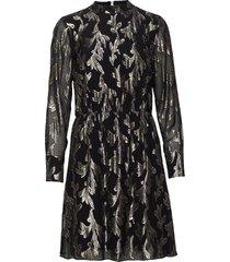 laurett adabelle dress jurk knielengte zwart bruuns bazaar