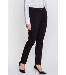czarne spodnie cygaretki - samera
