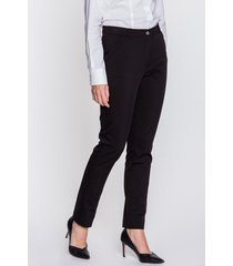 czarne spodnie cygaretki