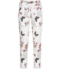 pantaloni loose fit (bianco) - rainbow