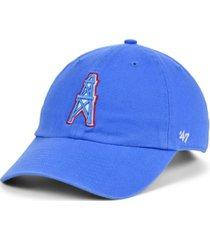 '47 brand houston oilers clean up cap