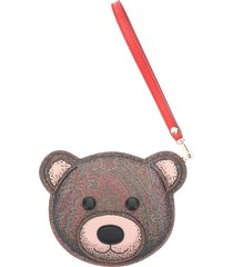 etro twister toys teddy bear pouch purse