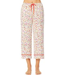 women's room service cropped pajamas pants, size x-large - pink (nordstrom exclusive)