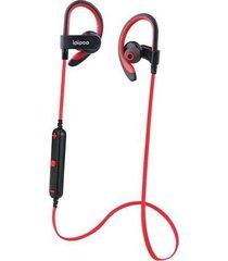 audifonos bluetooth inalámbricos il98bl para correr y deportes - rojo