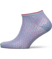 dollie dot coll. lingerie socks footies/ankle socks blå becksöndergaard