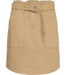 uma hw skirt kort kjol beige soft rebels