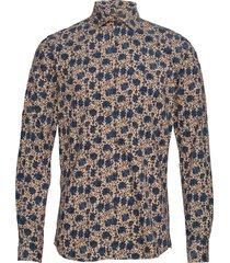 matteo spread collar shirt overhemd casual multi/patroon morris