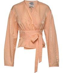 mianne blouse lange mouwen roze baum und pferdgarten