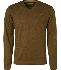 no excess pullover v-neck 2 color gold
