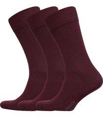 true ankle sock 3-pack underwear socks regular socks röd amanda christensen